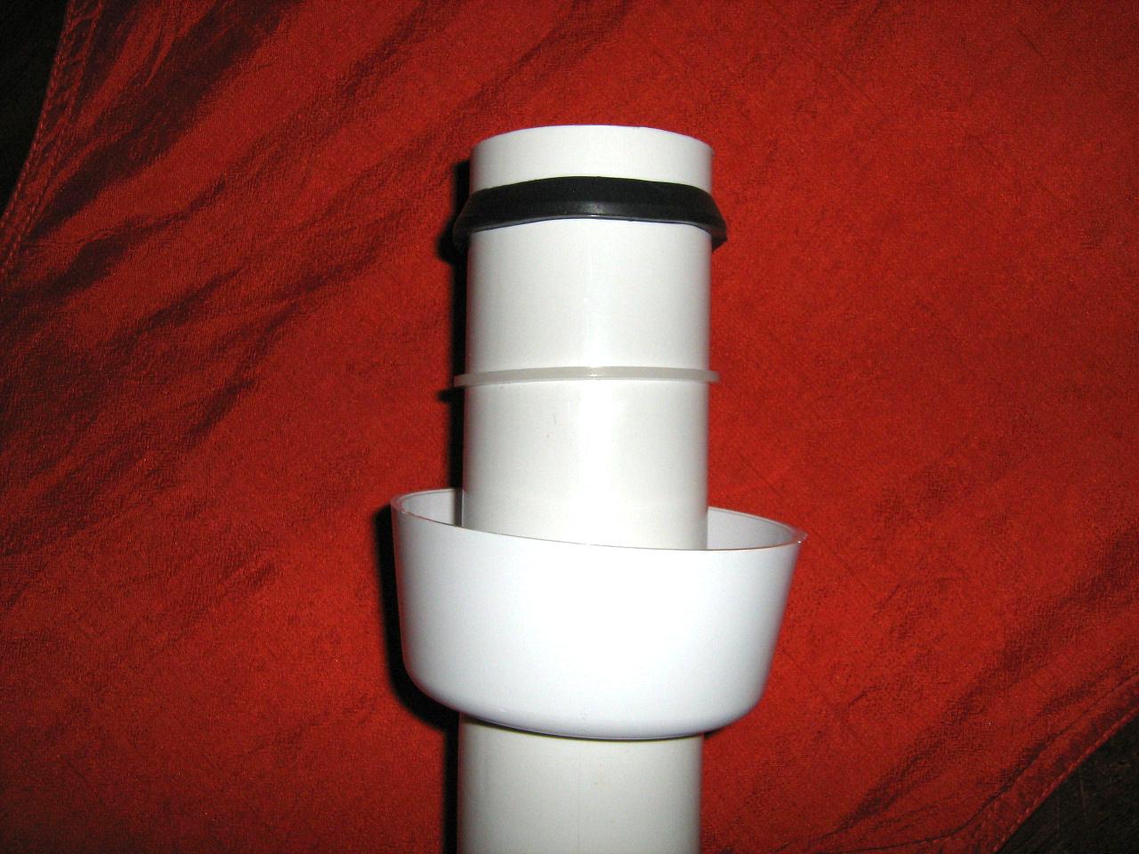 Vasca di scarico del water for Tubo di scarico pex