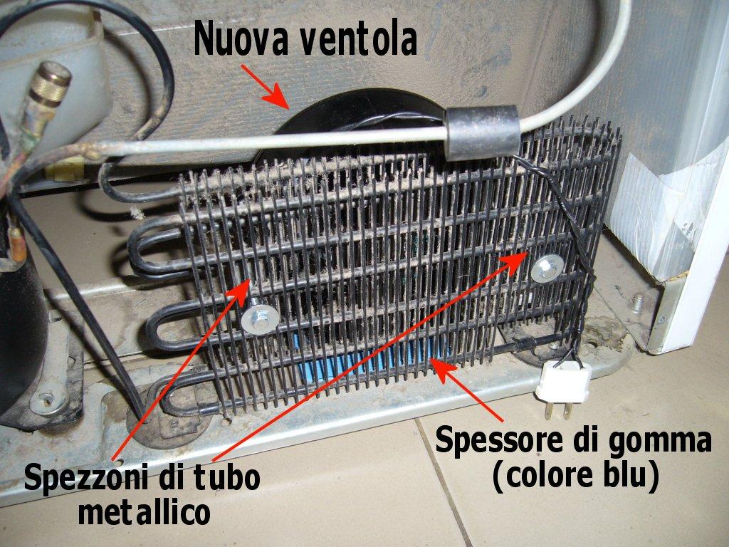 Come sostituire la ventola di un frigorifero for Frigo no frost non raffredda