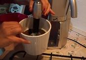 Pulizia macchina caffè