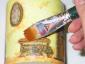 Vernice acrilica su terracotta decoupage