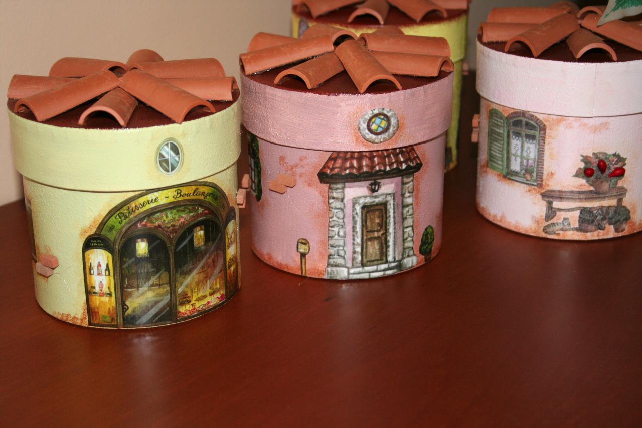 Barattoli casette portatutto - Casetta di cartone da colorare ...