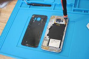 Assemblaggio smartphone Samsung