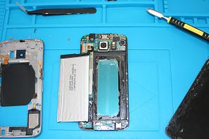 Cambio batteria smartphone