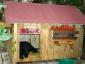 Casa in legno coibentato taglia grande per cani
