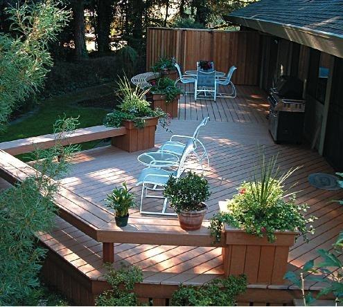 Pavimento in legno per esterno for Pavimento da giardino