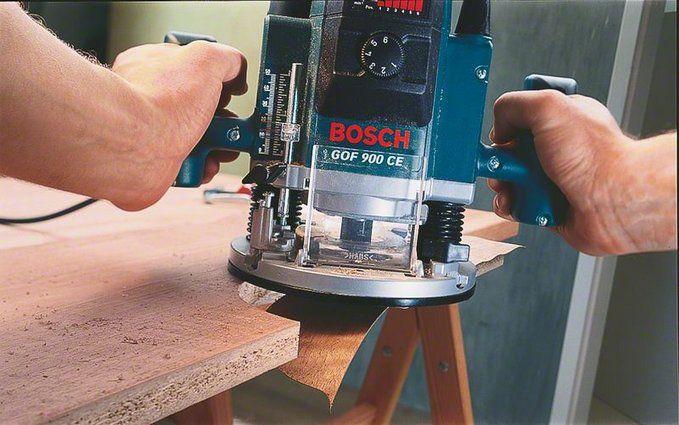 Le fresatrici per legno e metalli for Banco fresa bosch