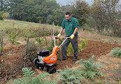 Come arare i terreni con la motozappa
