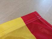 Finitura con canotto per bandiere