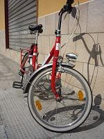 Bicicletta stile Graziella fronte