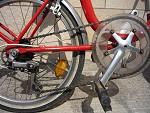 Cambio bicicletta stile Graziella